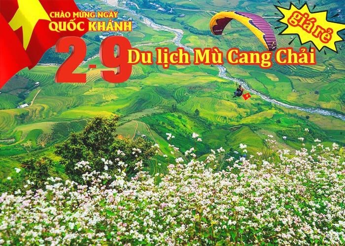 Tour Mù Cang Chải – Tú Lệ - Khau Phạ - Bảo Hà 2 Ngày Lễ 2/9