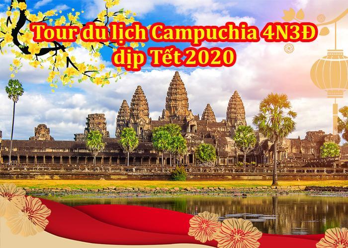Du Lịch Campuchia - Siemreap - Phnompenh 4 Ngày Tết 2020
