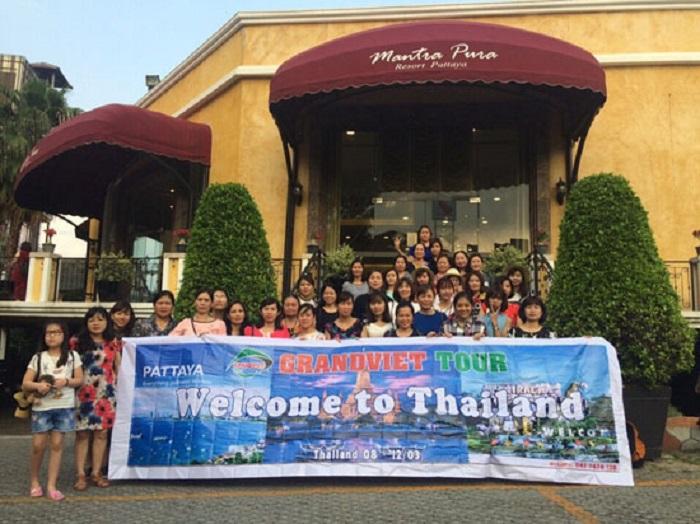 Du Lịch Thái Lan BangKok - Pattaya 4 Ngày 3 Đêm