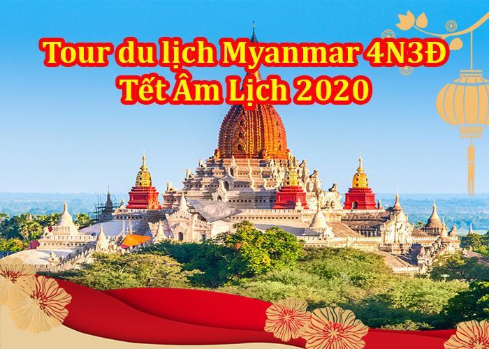 Du Lịch Myanmar 4 Ngày 3 Đêm Tết Âm Lịch 2020 (Bay Vietnam Airlines)