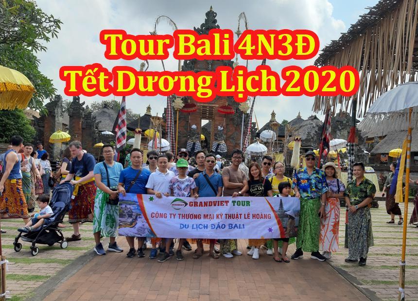 Du Lịch Bali - Indonesia 4 Ngày 3 Đêm Tết Dương Lịch 2020