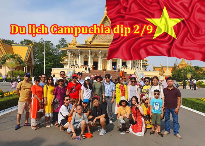 Tour Campuchia Siem Riep - Phnom Penh 4 Ngày 3 Đêm Lễ 2/9