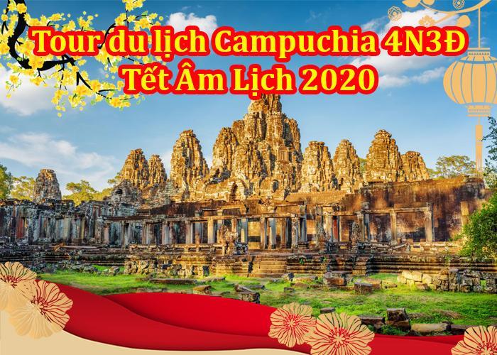 Du Lịch Campuchia 4 Ngày 3 Đêm Tết Âm Lịch 2020 Từ Hà Nội