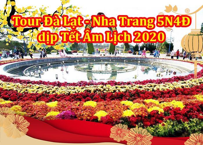 Tour Du Lịch Đà Lạt – Nha Trang 5 Ngày 4 Đêm Tết Âm Lịch 2020