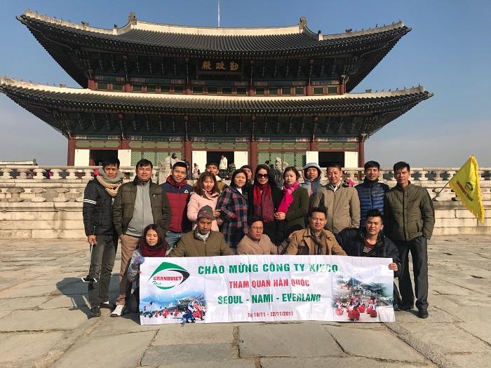 Du Lịch Hàn Quốc 5 ngày 4 đêm Từ Hà Nội (Bay Jin air,  Jeju Air)