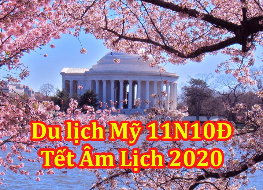 Tour Du Lịch Mỹ 11 Ngày 10 Đêm Tết Âm Lịch 2020