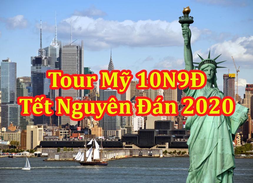 Du Lịch Bờ Đông - Bờ Tây Nước Mỹ 10 Ngày Tết Nguyên Đán 2020