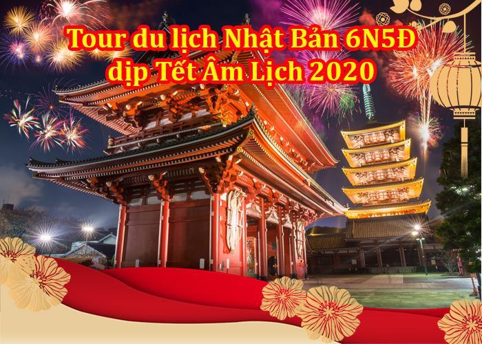 Tour Du Lịch Nhật Bản 6 Ngày 5 Đêm Tết Âm Lịch 2020