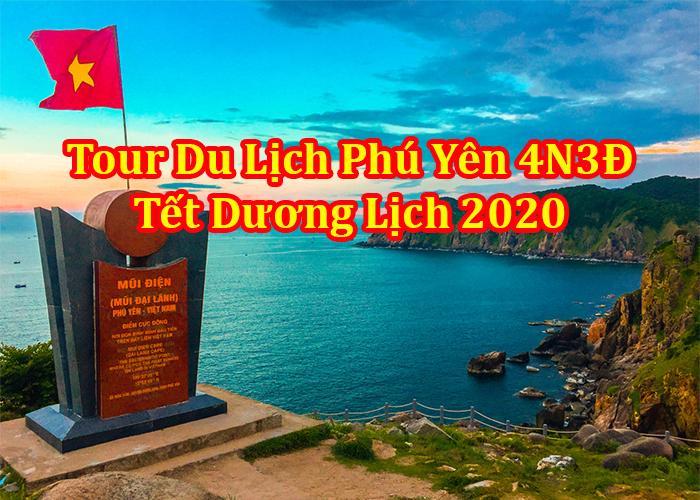 Du Lịch Phú Yên 4 ngày 3 Đêm Tết Dương Lịch 2020