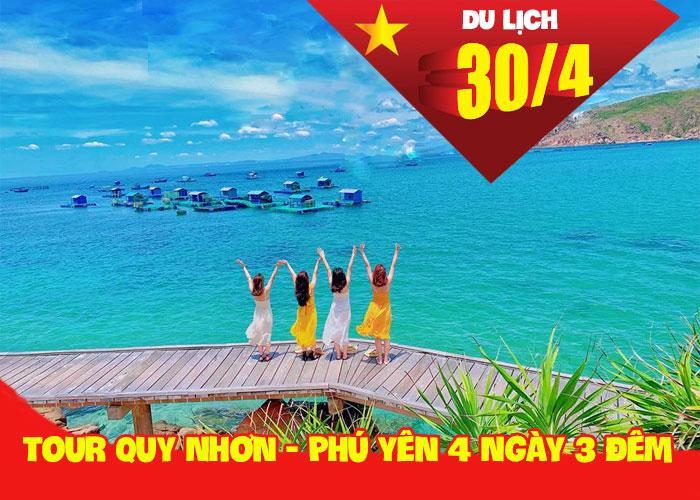 Tour Du Lịch Quy Nhơn - Phú Yên 4 Ngày 3 Đêm Dịp Lễ 30/4 Và Hè