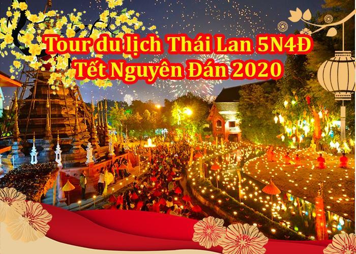Tour Du Lịch Thái Lan 5 Ngày 4 Đêm Tết Nguyên Đán 2020