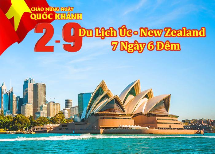 Du Lịch Úc - New Zealand 7 Ngày 6 Đêm Lễ 2/9/2019