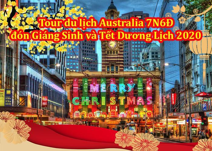 Tour Du Lịch ÚC 7 Ngày 6 Đêm Đón Giáng Sinh Và Tết Dương Lịch 2020