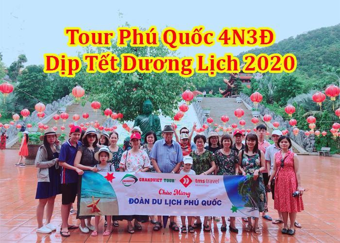 Tour Phú Quốc 4 Ngày 3 Đêm Tết Dương Lịch