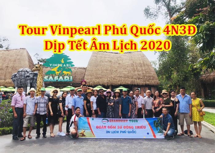 Tour Du Lịch Vinpearl Phú Quốc 4 Ngày 3 Đêm Tết Âm lịch 2020