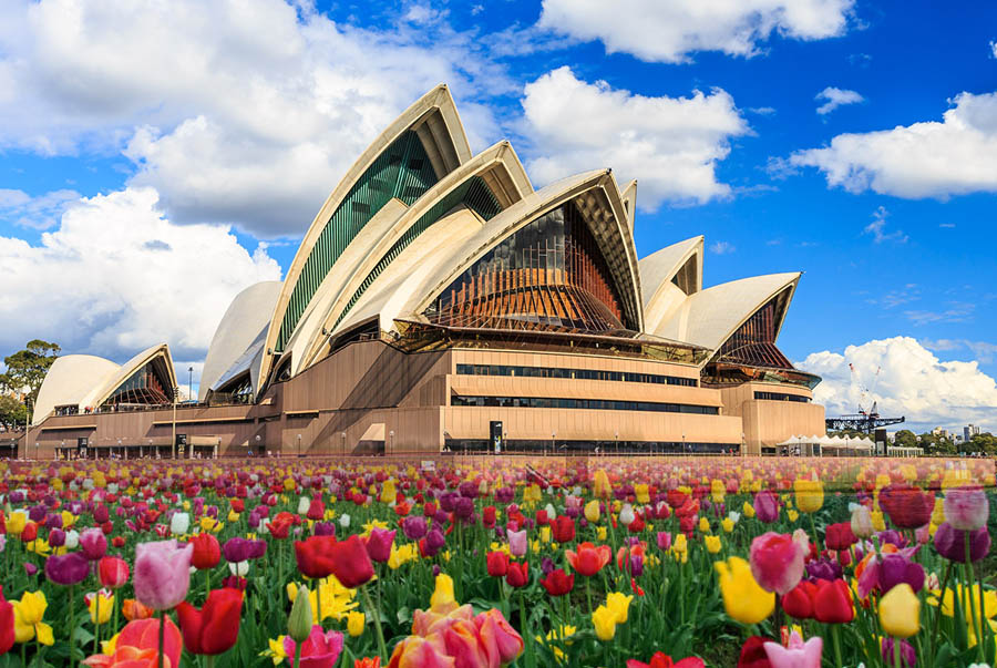 Tour du xuân nước Úc 6 ngày 5 đêm