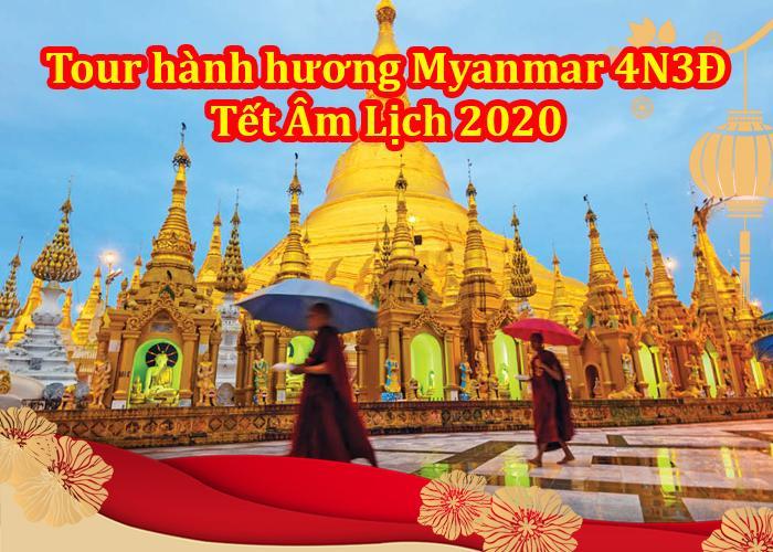Tour Du Lịch Myanmar 4 Ngày 3 Đêm Tết Âm Lịch 2020 (bay Vietjet Air )